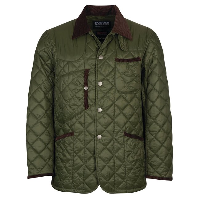 Barbour Staten Quilted - Olive