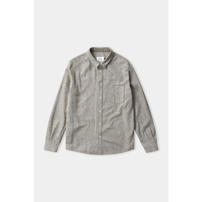 About Companions Simon Shirt - Eco Light Forest Flannel
