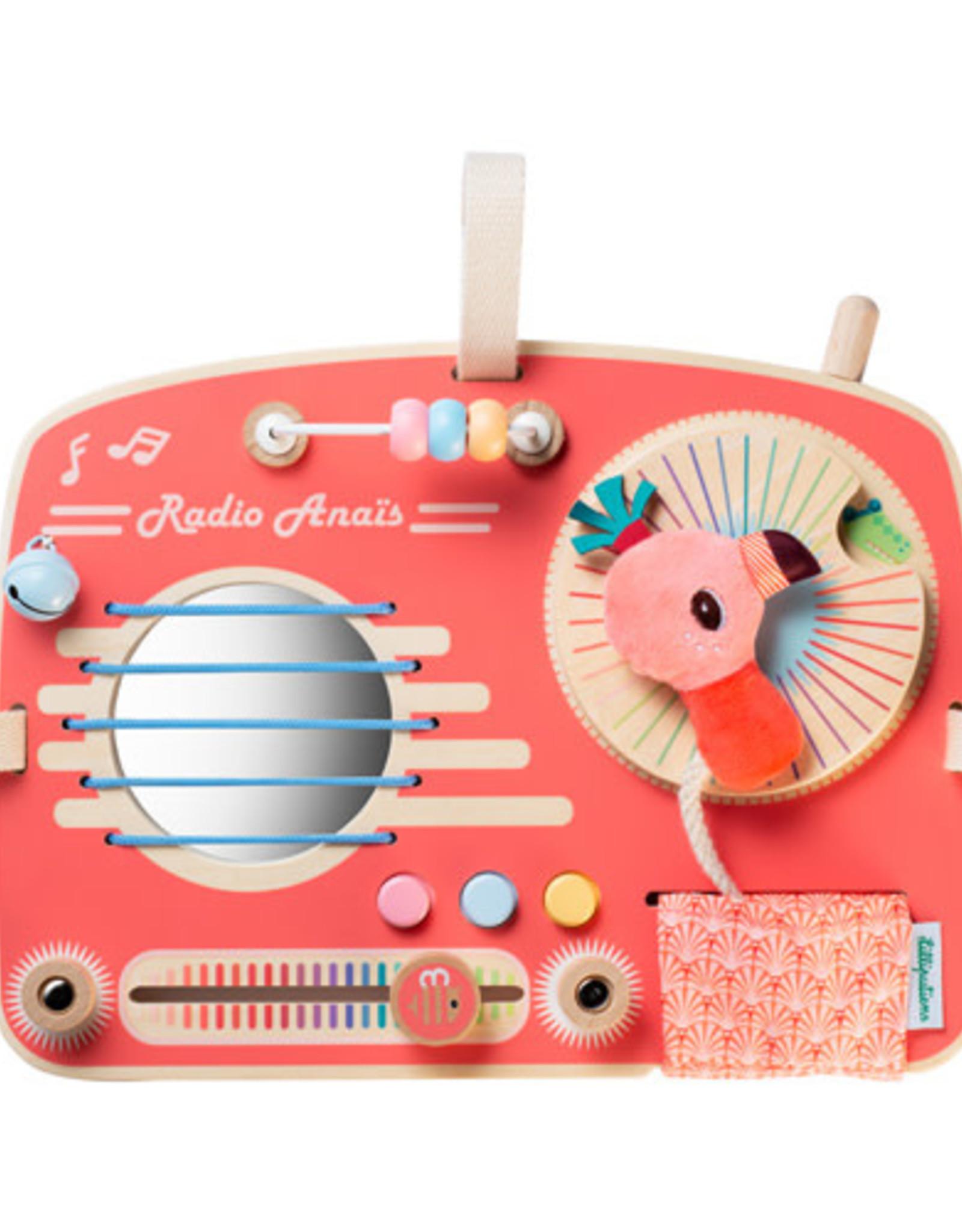 Lilliputiens Activiteitenpaneel Radio Anaïs