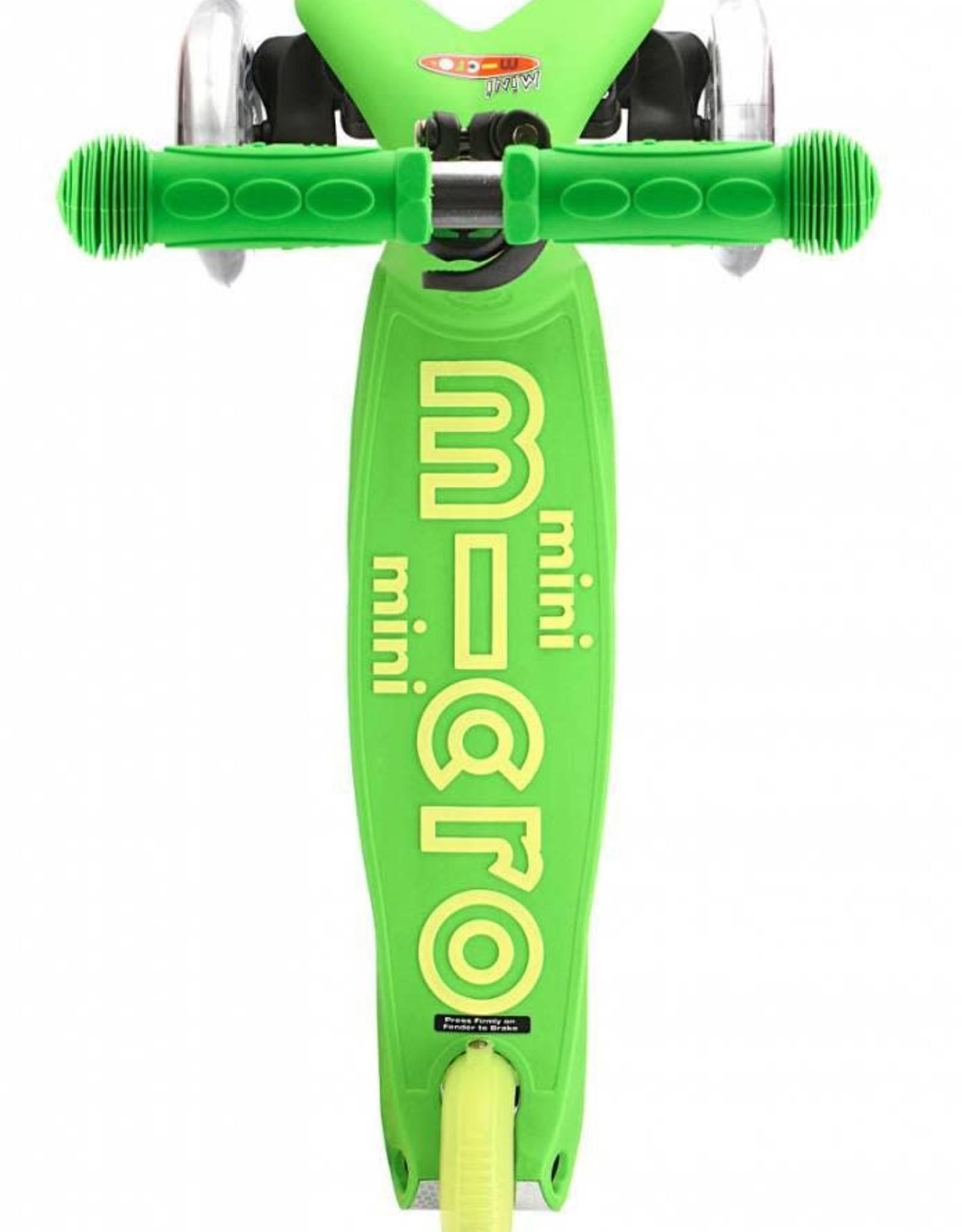 Micro Step Mini Micro Step Deluxe LED groen