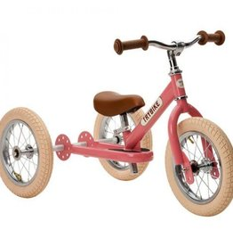 Trybike Loopfiets Trybike Steel Retro Pink