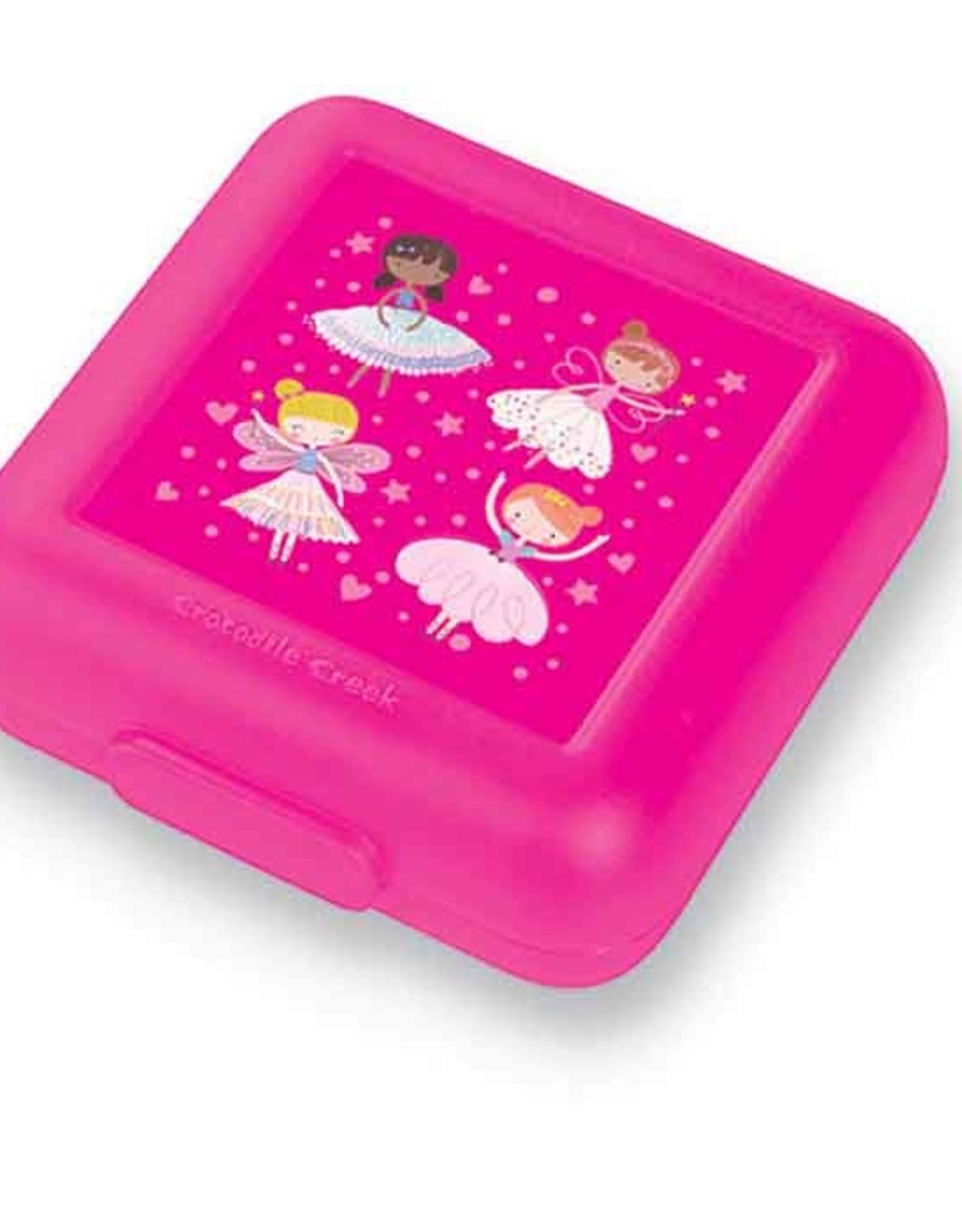 Crocodile Creek Lunchbox Pink Wonders