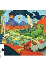 Crocodile Creek Puzzel Land of Dinosaurs 24St.