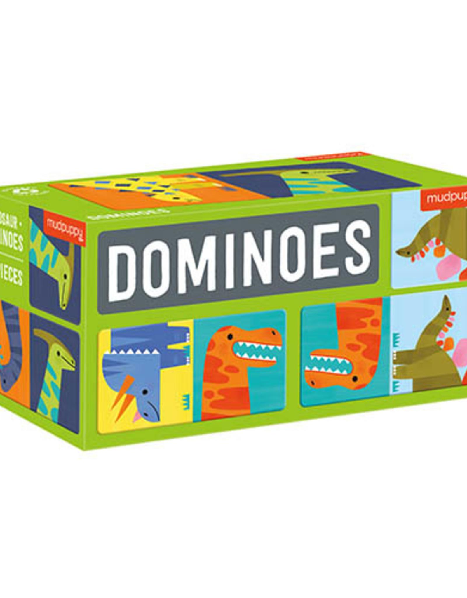 Mudpuppy Domino Dinosaurs