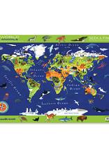 Crocodile Creek Placemat World Animals