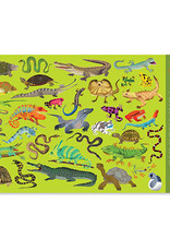 Crocodile Creek Placemat 36 Reptiles&Amphibian