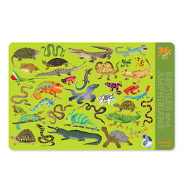 Crocodile Creek Placemat 36 Reptiles&Amphibian
