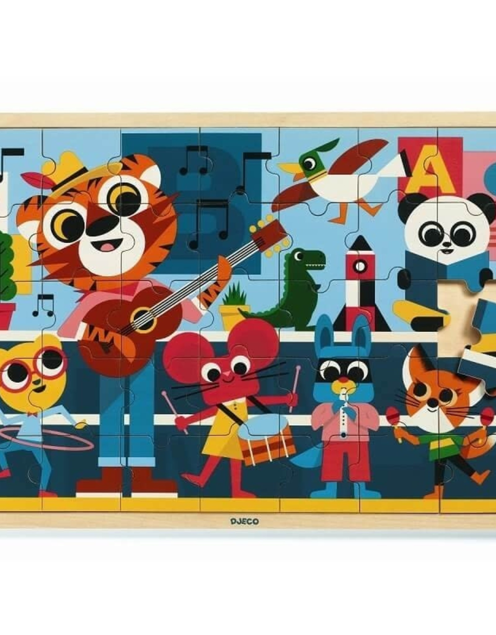 Djeco Puzzel Puzzlo Music