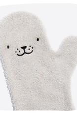 Invented4kids Baby Shower Glove grijze zeehond