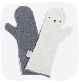 Invented4kids Baby Shower Glove tweekleurige pinguin NEW