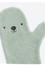Invented4kids Baby Shower Glove groen ijsbeer