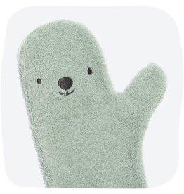 Invented4kids Baby Shower Glove groen ijsbeer NEW