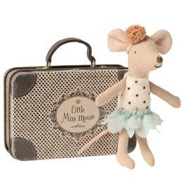 Maileg Little Miss Mouse in koffertje