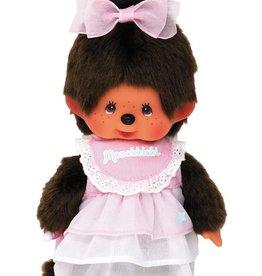 Monchhichi Monchhichi Meisje met roze jurk