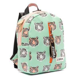Zebra Trends Rugzak Tiger Mint S