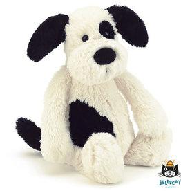 Jellycat Bashful Black&Cream Puppy