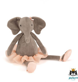 Jellycat Dancing Darcey Elephant Medium