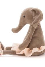 Jellycat Dancing Darcey Elephant Medium