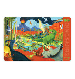 Crocodile Creek Placemat 36 Dinosaurs