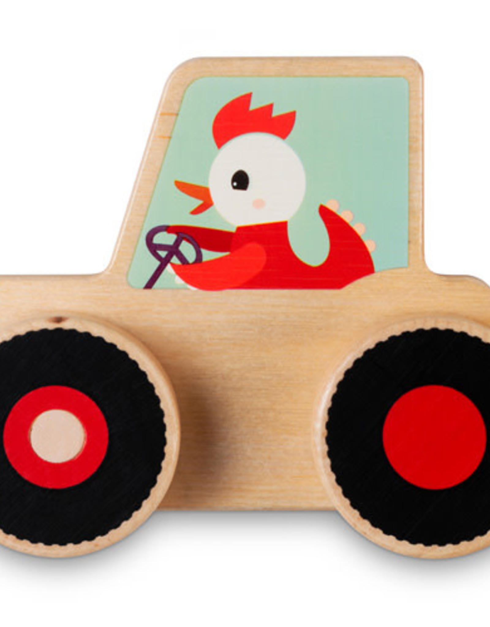 Lilliputiens Bouwset Tractor