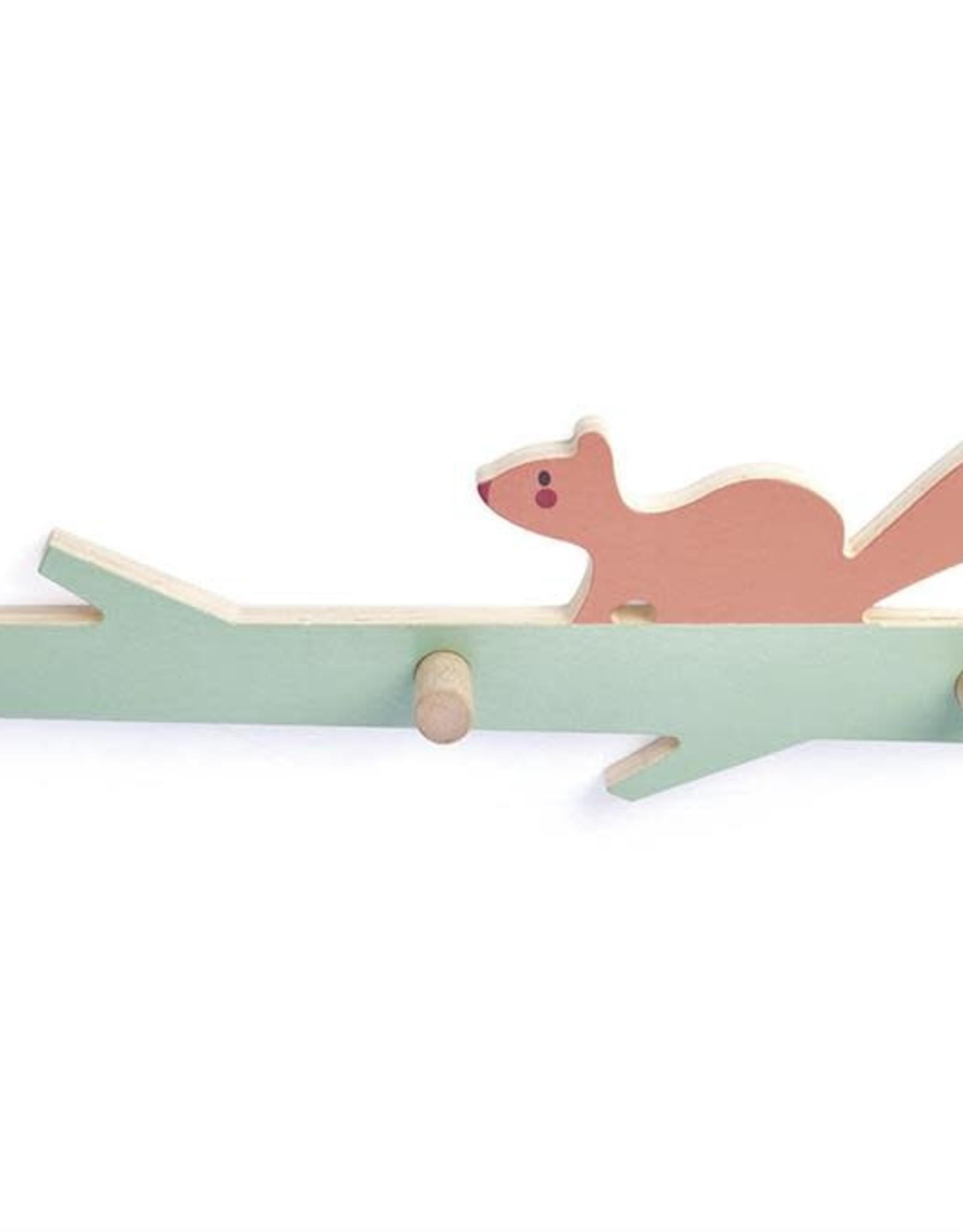 Tender Leaf Toys Kapstokje Eekhoorn