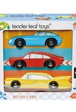 Tender Leaf Toys Retro Cars Set