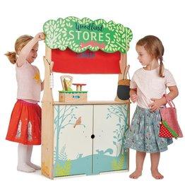 Tender Leaf Toys Winkeltje/poppenkast Woodland