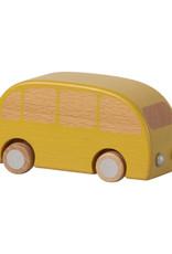 Maileg Houten Bus Pull Back Geel