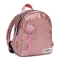 Zebra Trends Rugzak Leo Pink Metallic