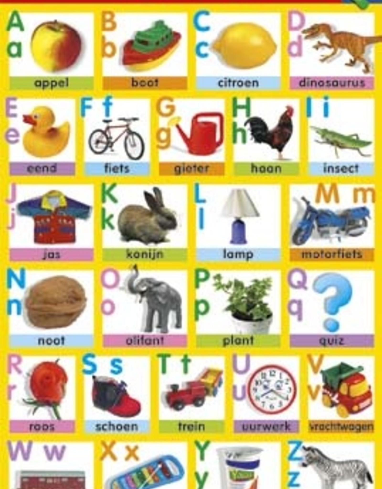 Deltas Poster Het Alfabet