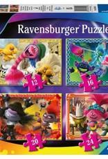 Ravensburger Puzzel set Trolls Worldtour