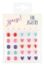 Souza! Plakoorbellen Dots & Hearts