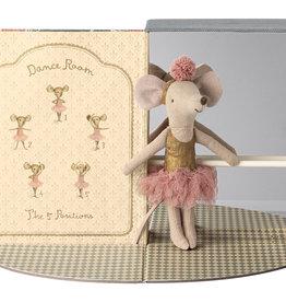 Maileg Grote zus muis met Dance Room