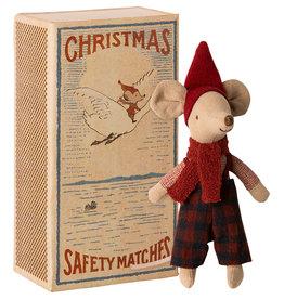 Maileg Grote broer Christmas mouse in doosje