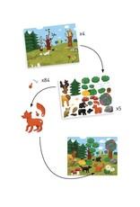 Djeco Bewegende schilderijen Hallo dieren!