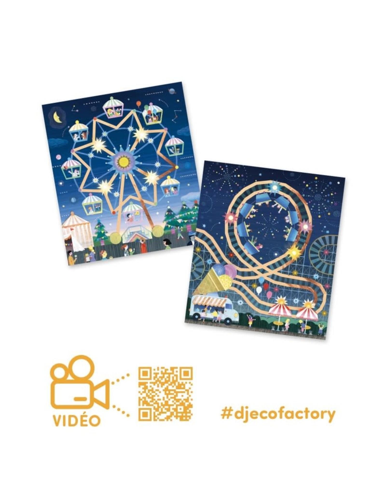 Djeco Factory Art+Technology Hoog in de lucht
