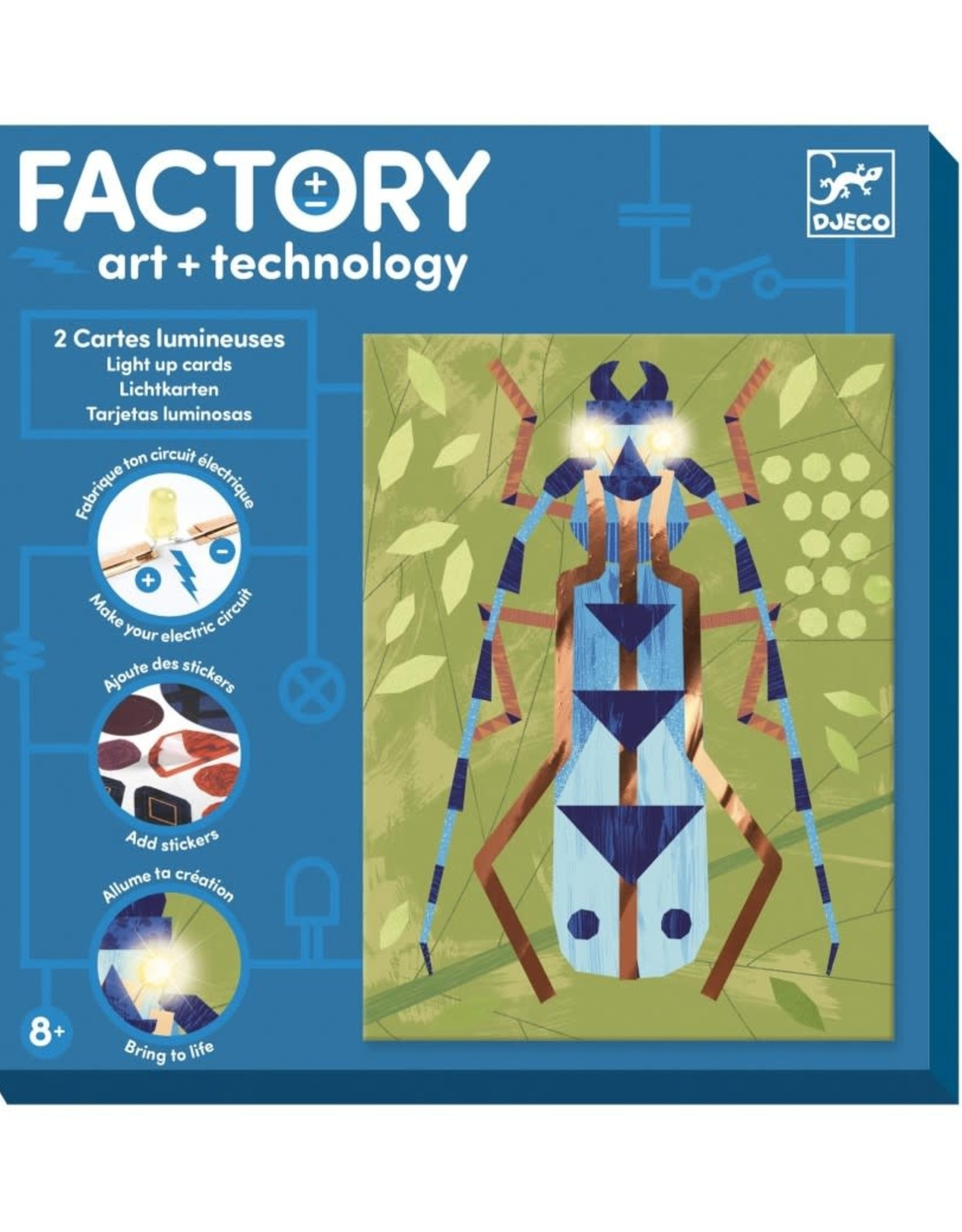 Djeco Factory Art+Technology Insecten