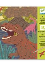 Djeco Krasfolie Dinosauriërs