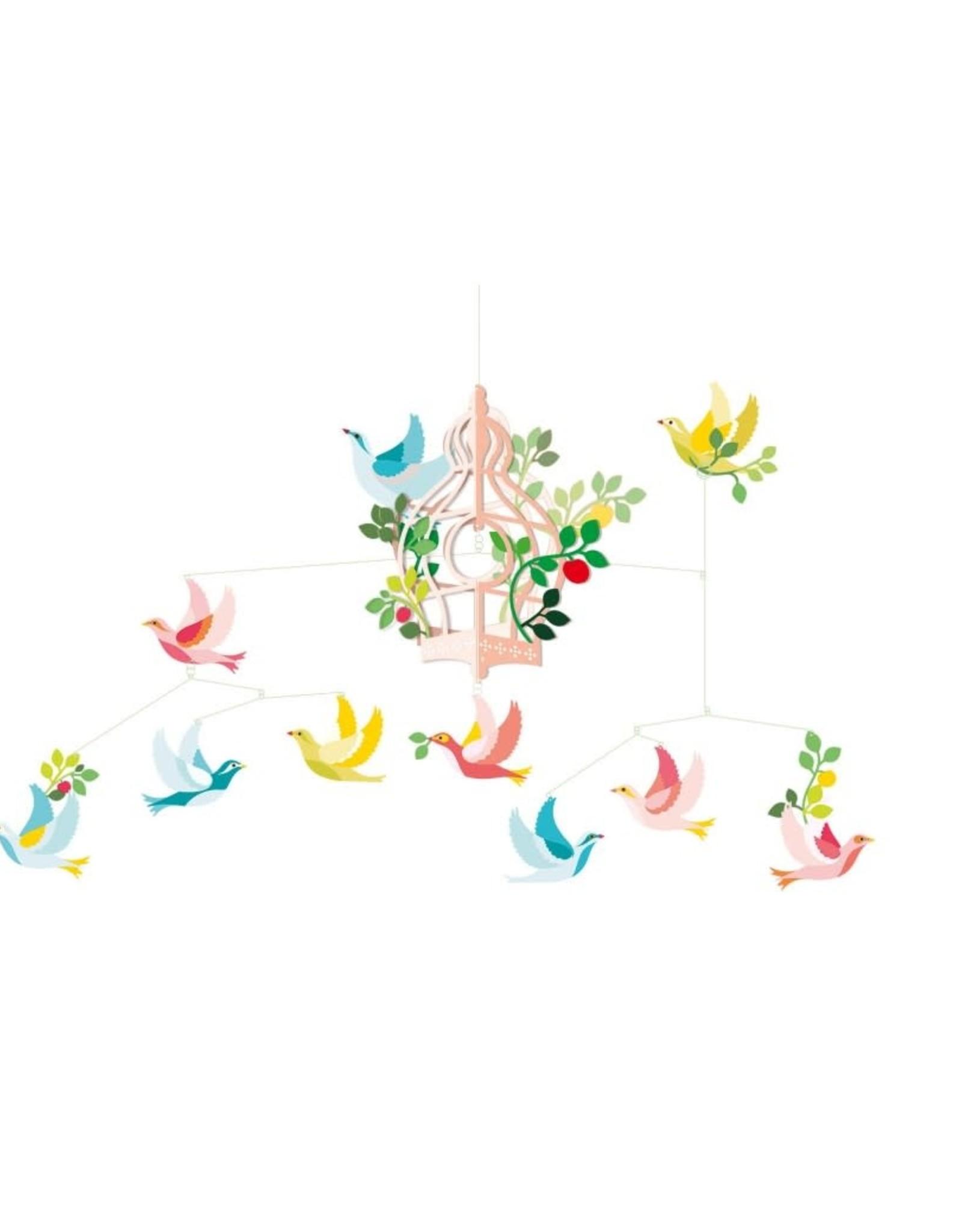 Djeco Mobile Cage Oiseaux