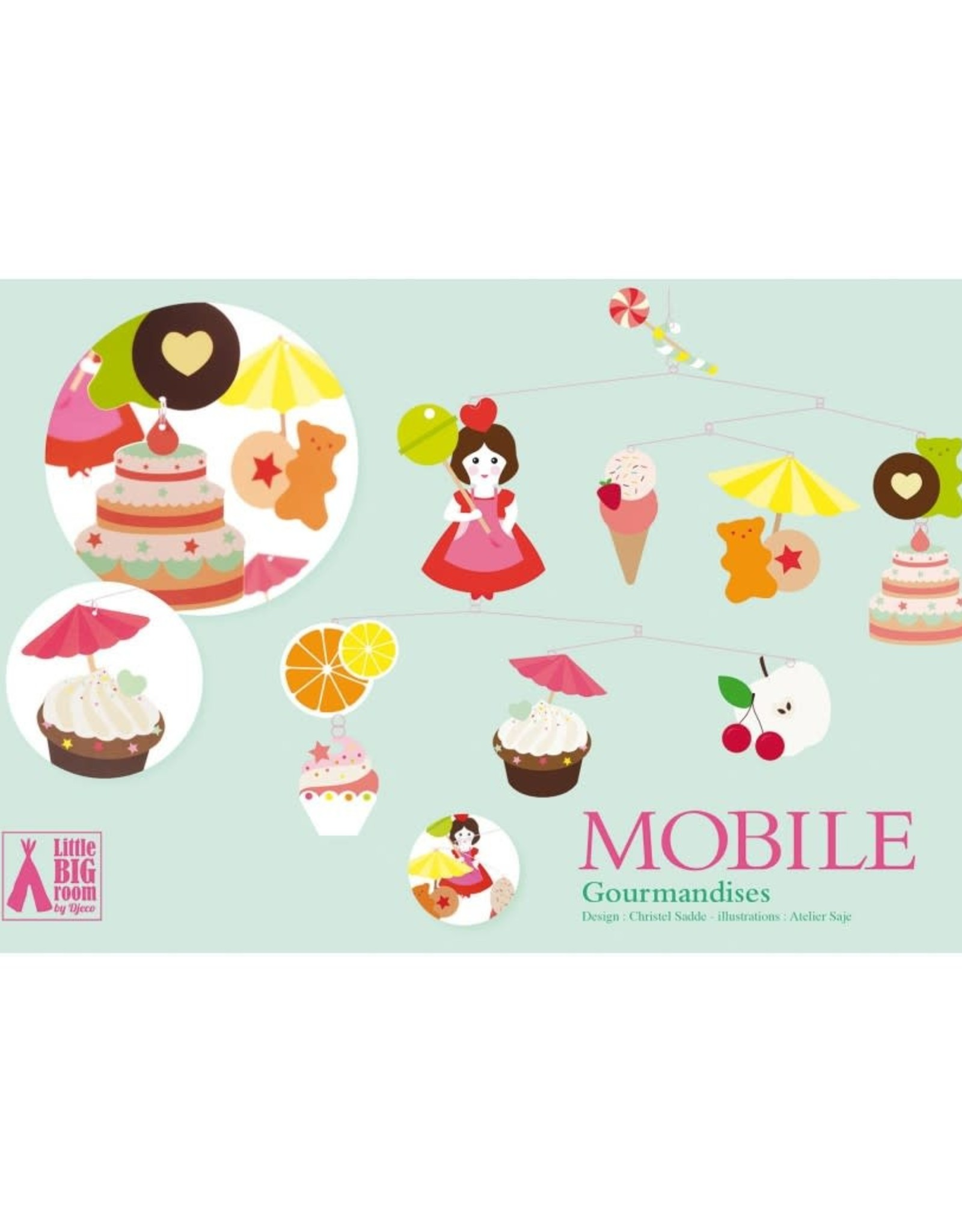 Djeco Mobile Sweets