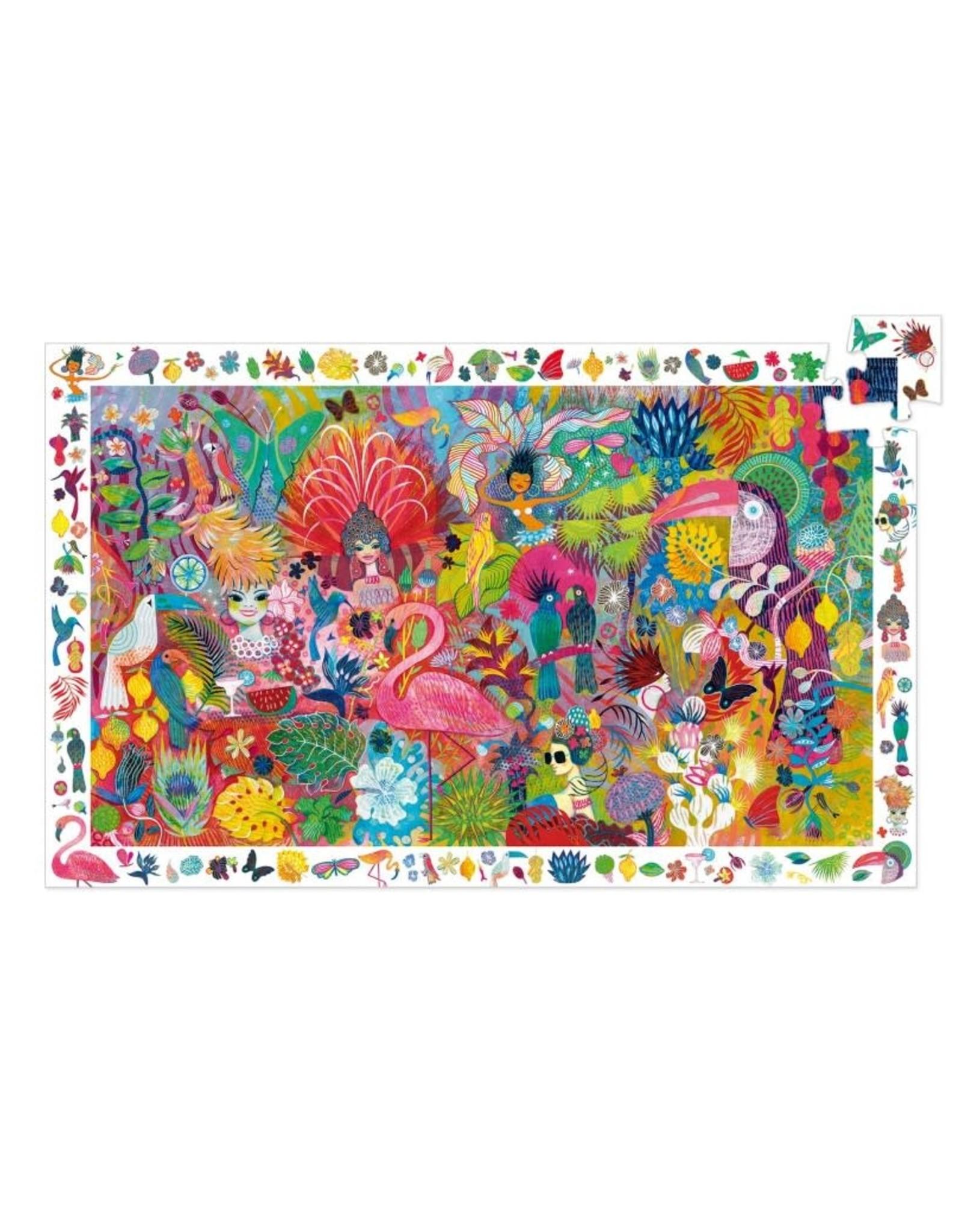 Djeco Observatiepuzzel Rio Carnaval