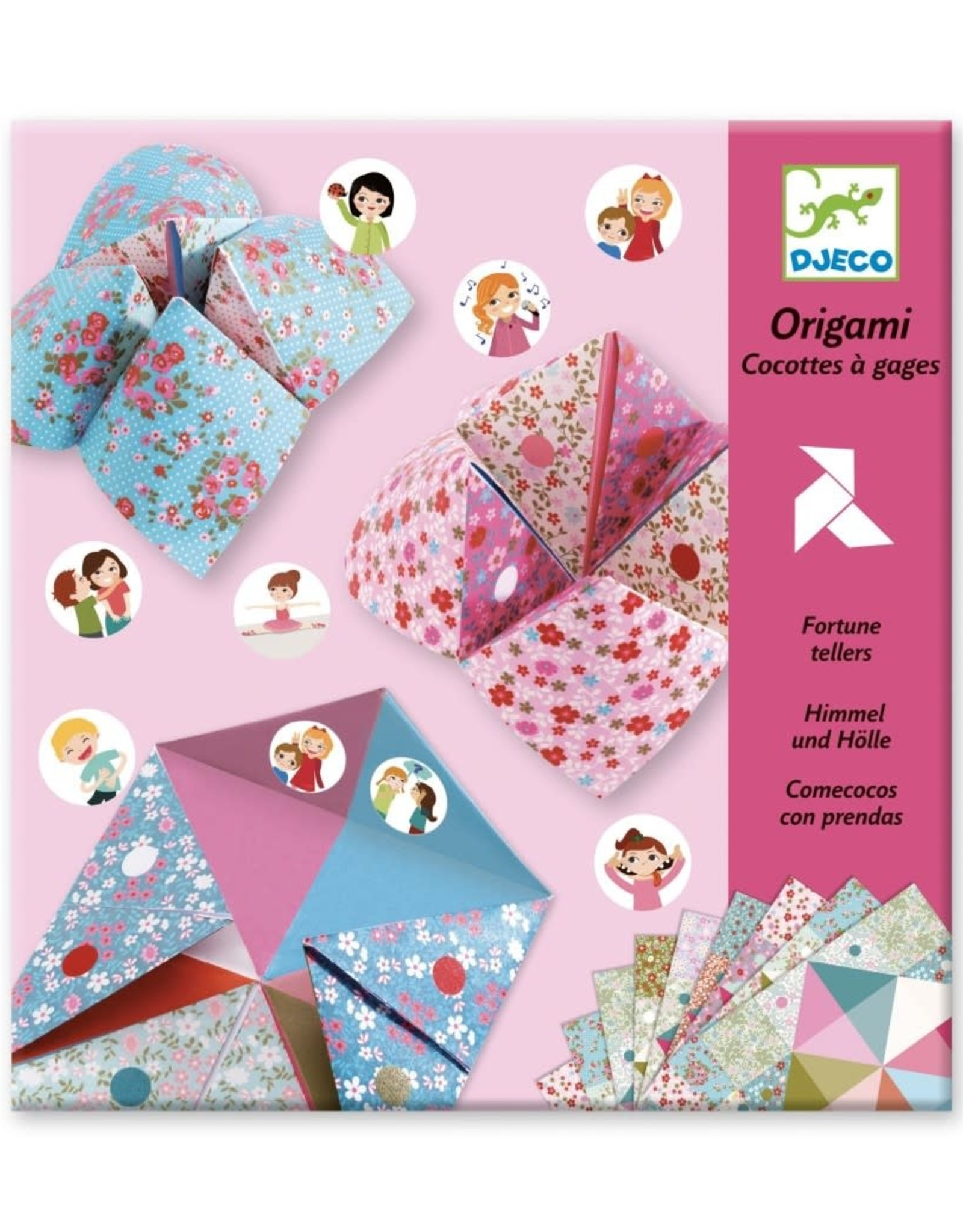 Djeco Origami Zoutvaatje Romantic