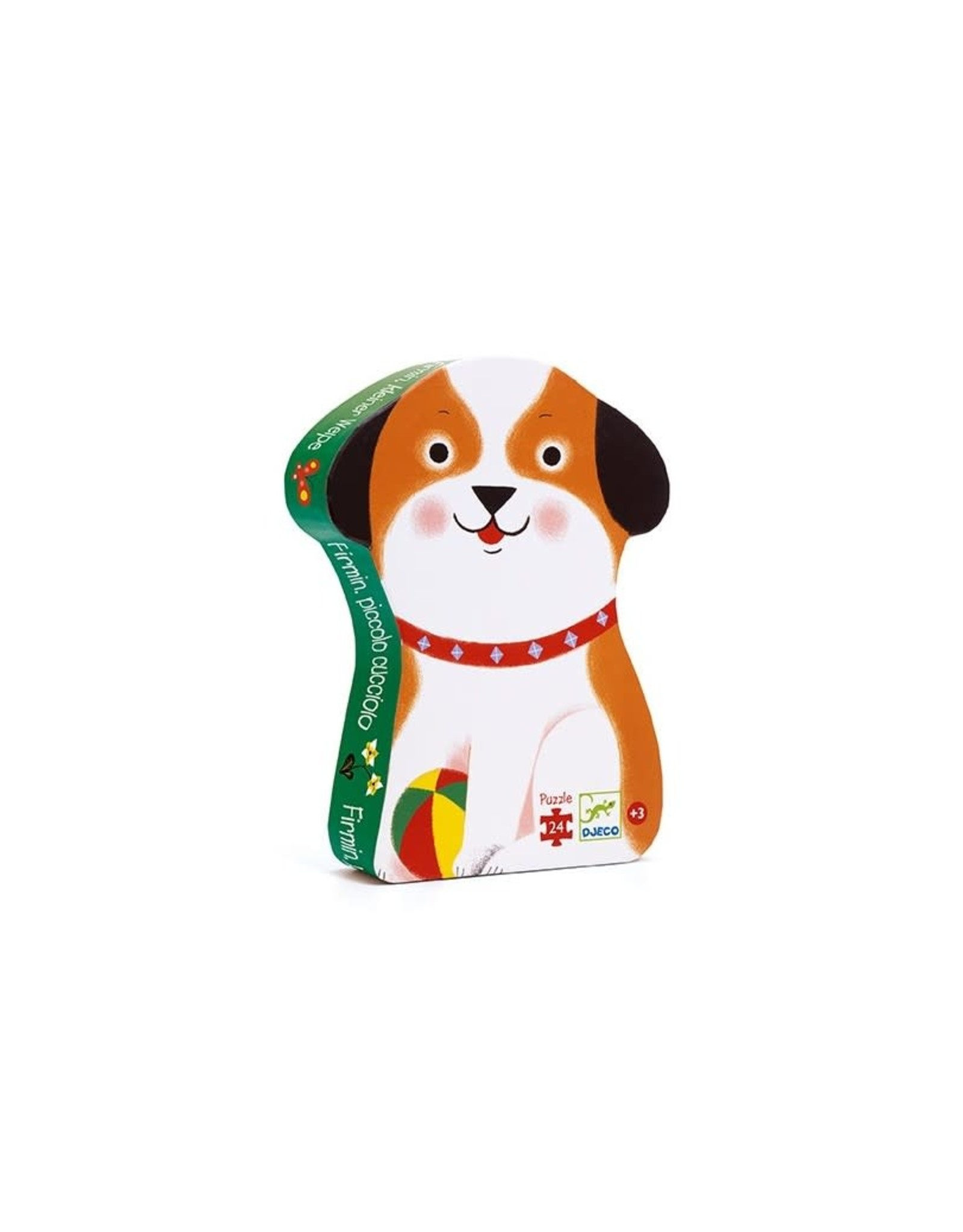 Djeco Silhouetpuzzel Firmin, kleine puppy