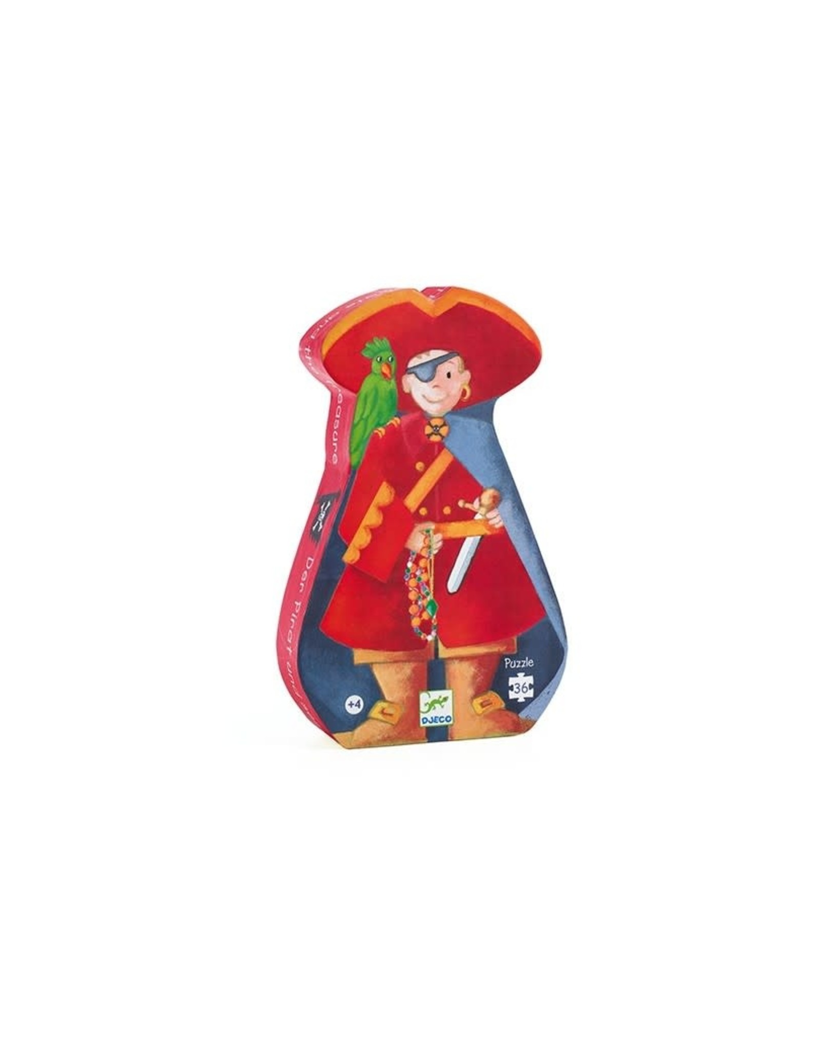 Djeco Silhouetpuzzel Piraat
