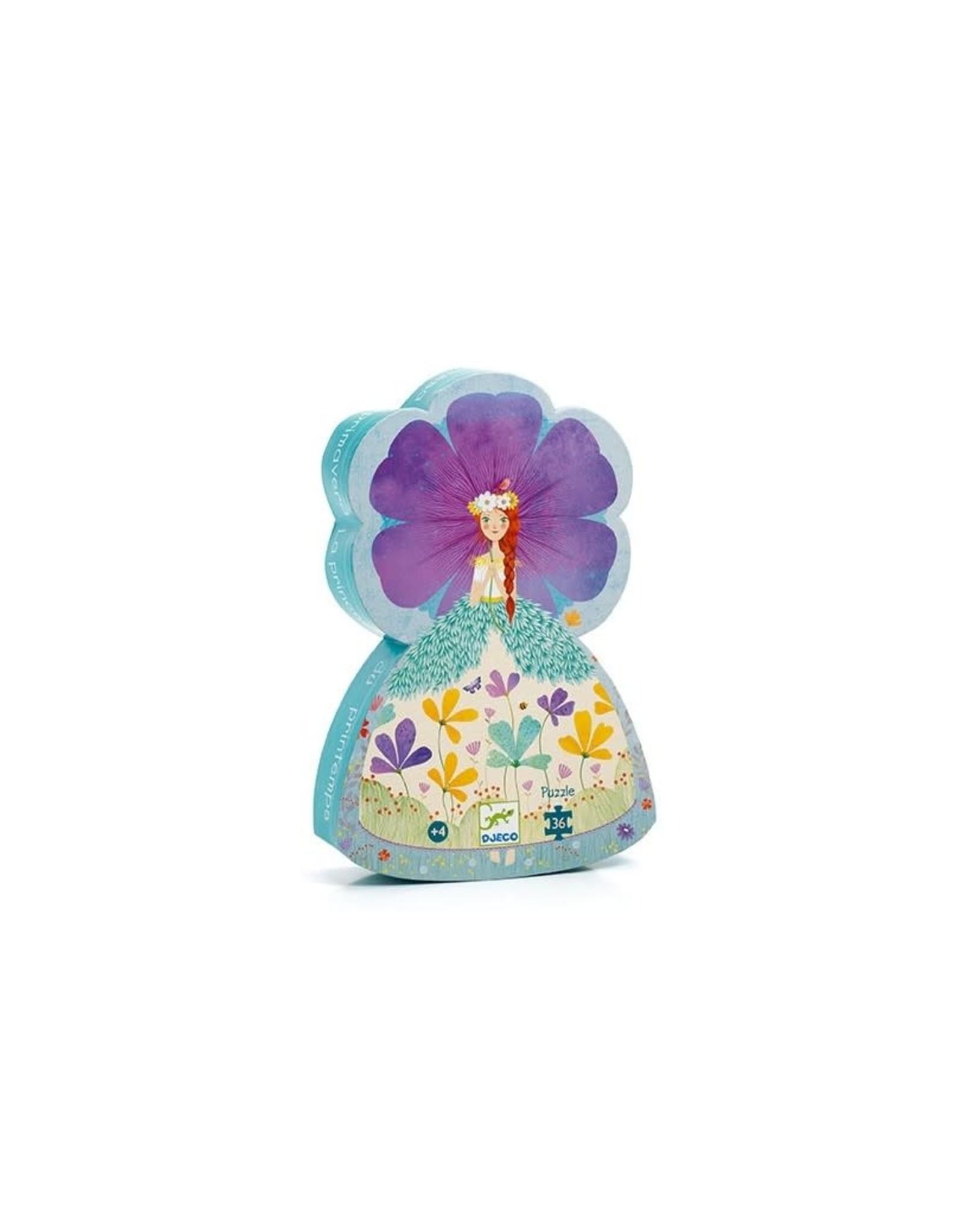 Djeco Silhouetpuzzel Prinses van de lente