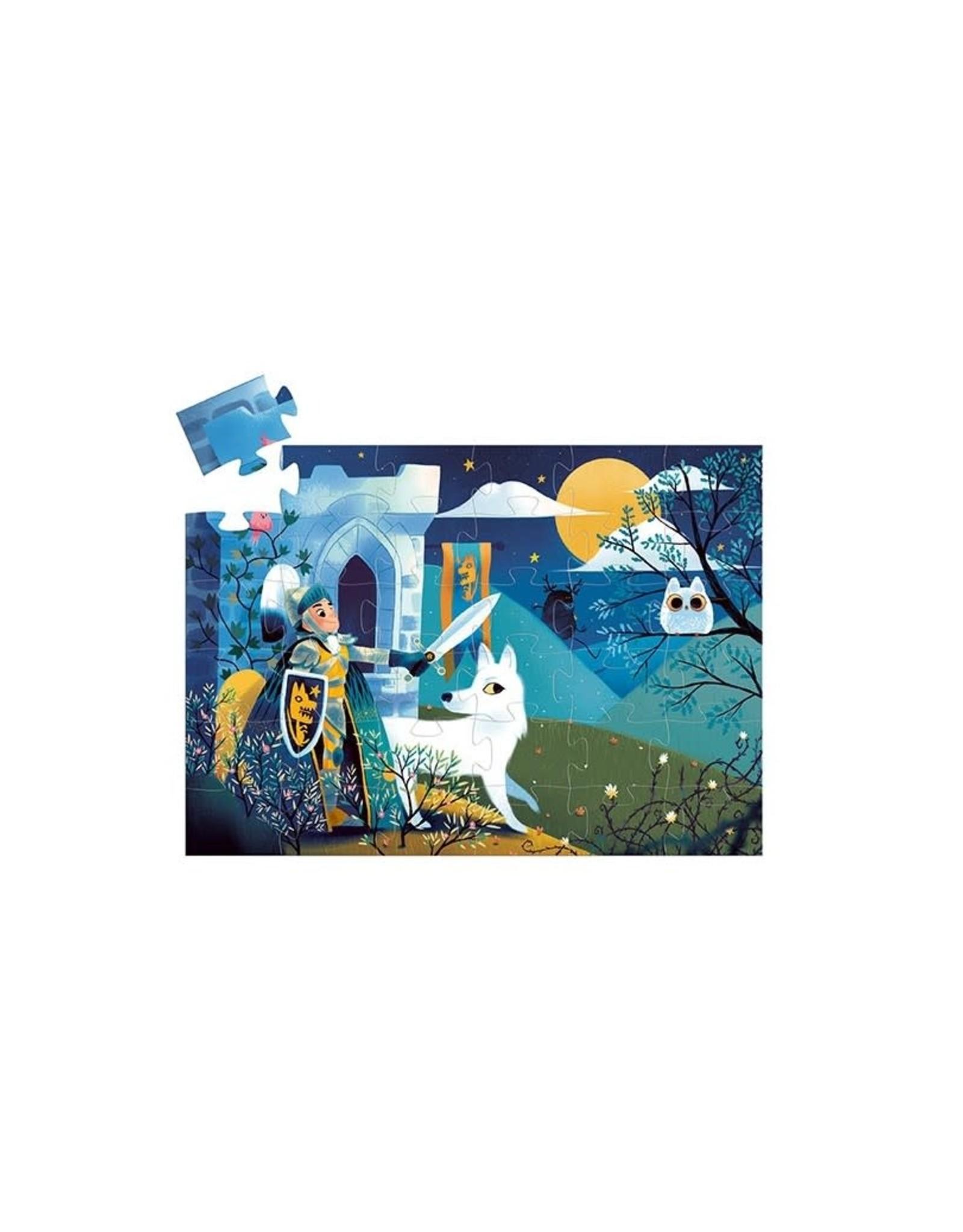 Djeco Silhouetpuzzel Ridder van de volle maan