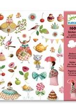 Djeco Stickers Theekransje Prinses