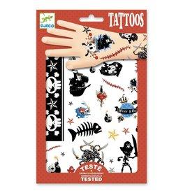 Djeco Tattoos Piraten