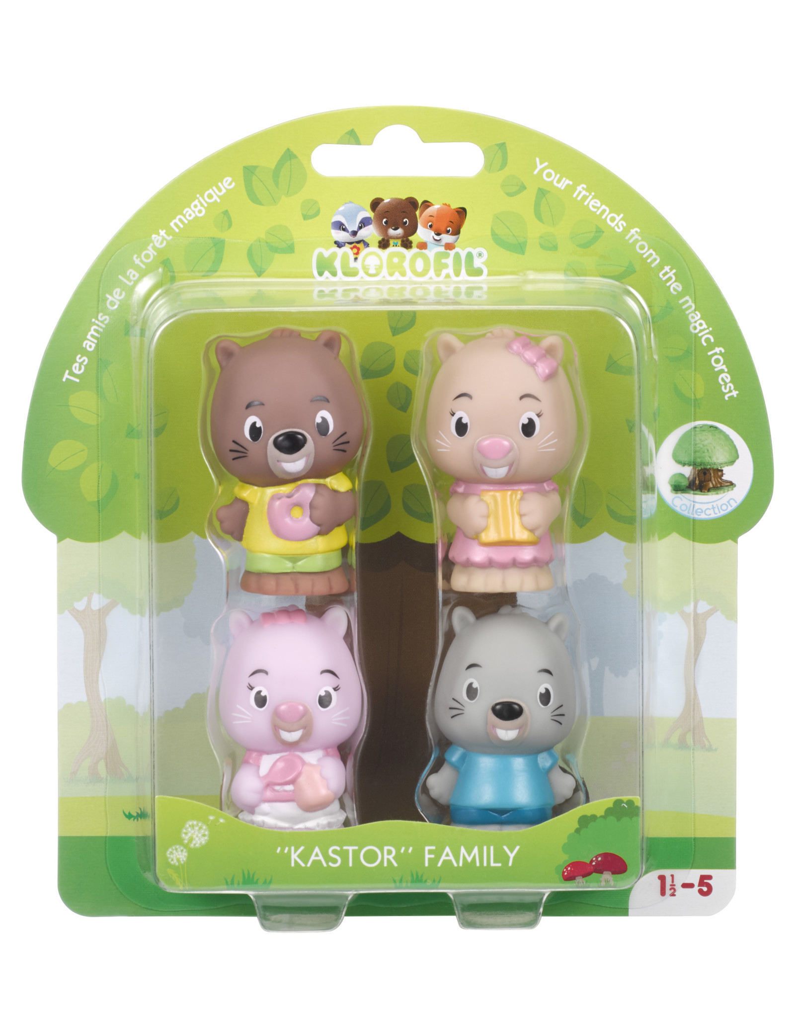Klorofil Familie Kastor