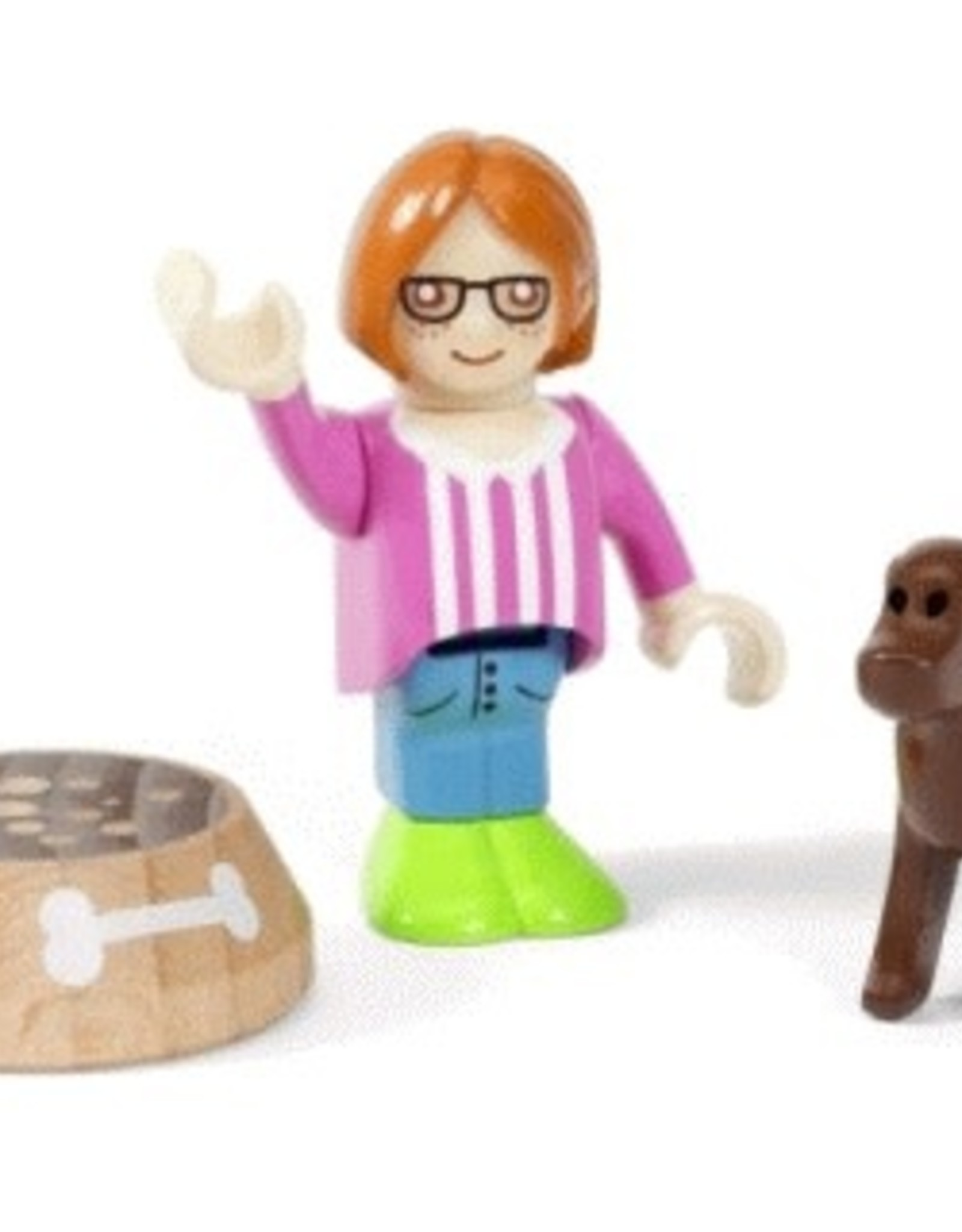 Brio Figure & Dog